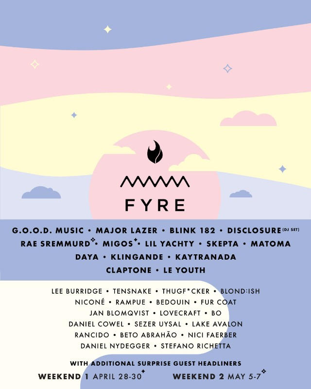 Island Music Fest Lineup