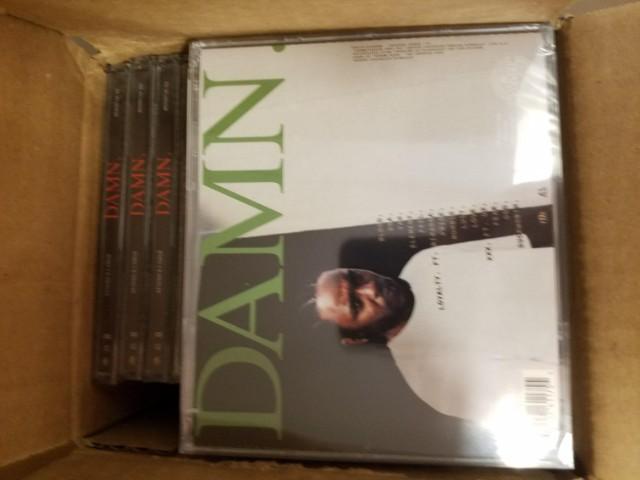 Kendrick Lamar DAMN. CDs