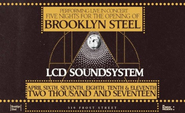 LCD Soundsystem at Brooklyn Steel