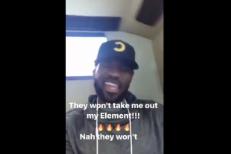 LeBron James Previews Kendrick Lamar's <em>DAMN.</em> On Instagram