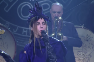 Watch PJ Harvey Perform &#8220;The Community Of Hope&#8221; On <em>Colbert</em>