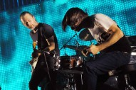 Radiohead Got Jokes: Watch Jonny Greenwood Prank Thom Yorke Onstage In Berkeley