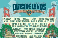 Outside Lands 2017 Lineup