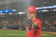 Ben Gibbard & Macklemore Play Softball For Charity