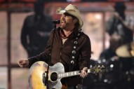 Trump Briefly Sees Toby Keith's Men-Only Show In Saudi Arabia