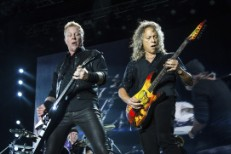 Metallica Rides (Out) The Lightning At A Rain-Soaked Rock On The Range