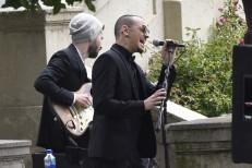 Chester Bennington Sings At Chris Cornell's Funeral