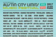 Austin City Limits 2017 Lineup