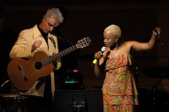 "Watch David Byrne Perform ""Once In A Lifetime"" With Angélique Kidjo At Carnegie Hall"