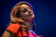"Watch Lana Del Rey Debut ""Cherry"" At KROQ Weenie Roast"