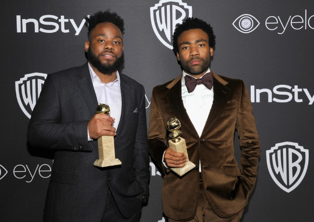 Stephen and Donald Glover