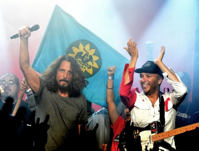 Chris Cornell & Tom Morello
