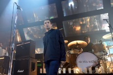 Liam Gallagher Performs An Opening Gig In Manchester For His Underplay Tour