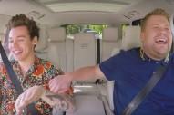 Watch Harry Styles & James Corden Sing OutKast On Carpool Karaoke