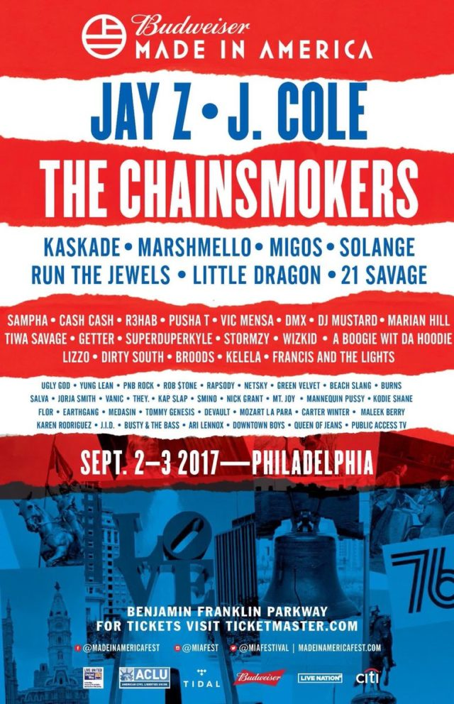 Made In America 2017 Lineup - Stereogum