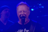 Watch Metallica Crunch Through &#8220;Now That We&#8217;re Dead&#8221; On <em>Colbert</em>