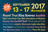 POP Montreal 2017 Lineup