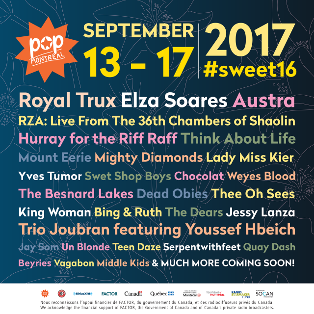 POP Montreal 2017