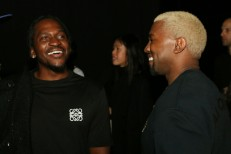 Pusha T and Kanye West