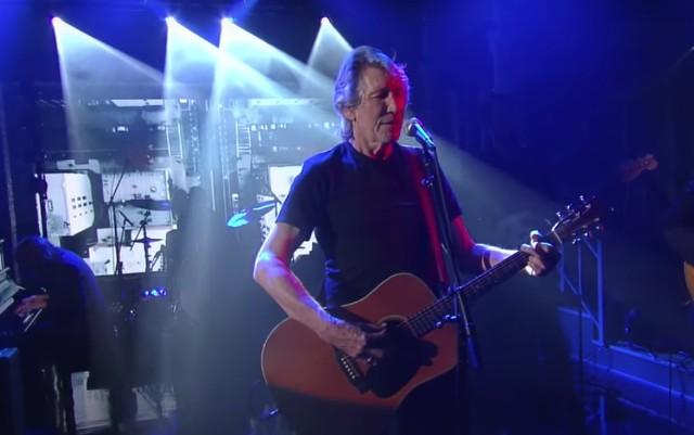 Roger Waters on Colbert