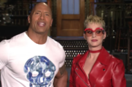 Watch Katy Perry &#038; The Rock&#8217;s <em>SNL</em> Promo