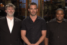 Watch James Murphy Land Some Jokes In Chris Pine & LCD Soundsystem's <em>SNL</em> Promos