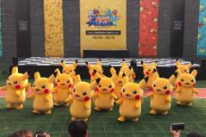 Dancing Pikachu Violently Dragged Offstage :(
