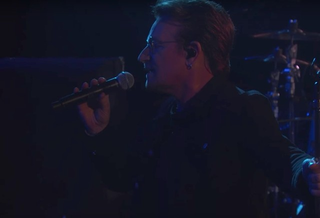 Watch U2 Take Over Jimmy Kimmel Live & Play Two Songs - Stereogum