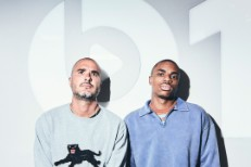 Zane Lowe and Vince Staples
