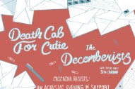 Death Cab For Cutie & The Decemberists Announce 'Cascadia Resists' Planned Parenthood/ACLU Benefit