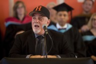 Watch Billy Joel Give The Commencement Speech At His Long Island Alma Mater