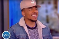 Watch Chance The Rapper Talk LeBron James, Donald Trump, And His Daughter On <em>The View</em>