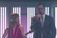 "Watch Feist & Stephen Colbert Sing ""Century"" Together"