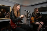 "Watch Haim Debut New Song ""Night So Long"" At LA Pop-Up"