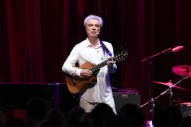 Watch David Byrne Lead Whitney Houston Karaoke At His <em>How Music Works</em> Variety Show In NYC