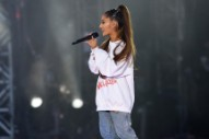 "Watch A Choked-Up Ariana Grande Sing ""One Last Time"" As Tour Resumes After Manchester Bombing"