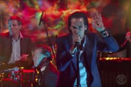 Watch Nick Cave And The Bad Seeds&#8217; Gorgeous <em>Colbert</em> Performance
