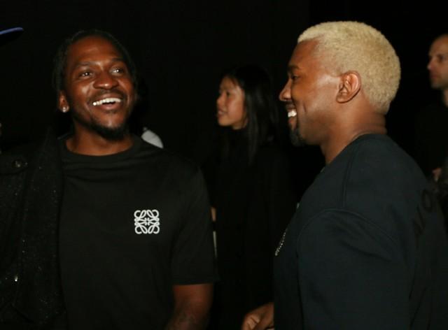 Pusha T and Kanye West