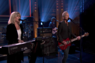 Watch Lindsey Buckingham And Christine McVie Bring &#8220;In My World&#8221; To <em>Fallon</em>