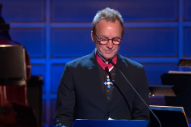 Watch Sting Receive The Polar Music Prize And Get Covered By The Tallest Man On Earth, Annie Lennox, & Others