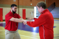 Watch Drake & Will Ferrell As Handshake Coaches In NBA Awards Sketch