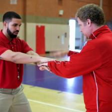 Watch Drake & Will Ferrell As NBA Handshake Coaches