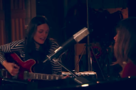 "Watch The Staves & Justin Vernon Play ""Damn It All"" At Funkhaus"