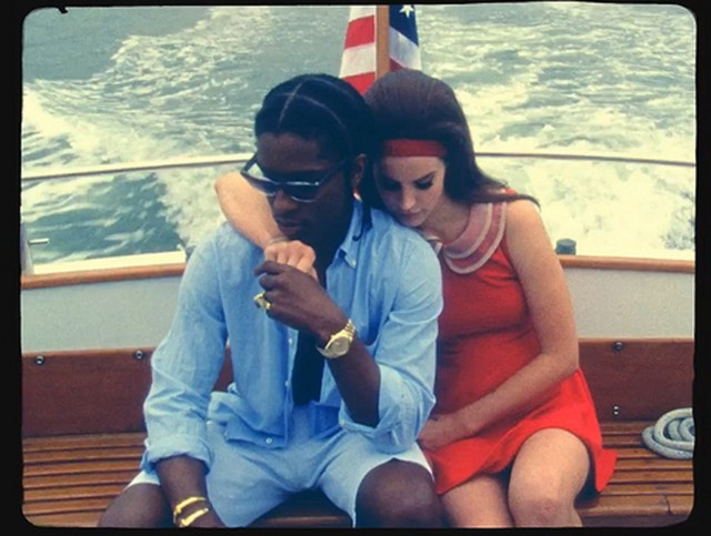 Watch Lana Del Rey Tease New Song With A$AP Rocky And Playboi Carti