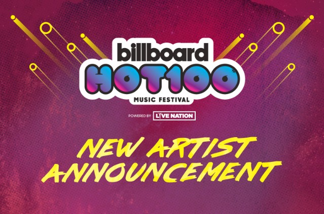 Billboard Hot 100 Fest Graphic
