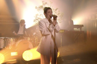 Watch Lorde Perform &#8220;Perfect Places,&#8221; Admit She&#8217;s Behind The Onion Ring Instagram On <em>Fallon</em>