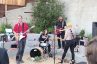 Watch Queens Of The Stone Age's Josh Homme Play A 6th Grade Graduation Party