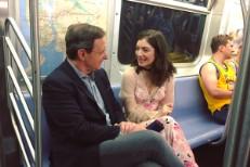 Lorde On Subway