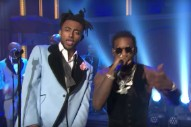 Watch Aminé &#038; Offset&#8217;s Fun-As-Hell <em>Seth Meyers</em> Performance