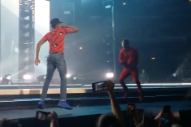 Watch Kendrick Lamar Bring Out Chance The Rapper In Chicago